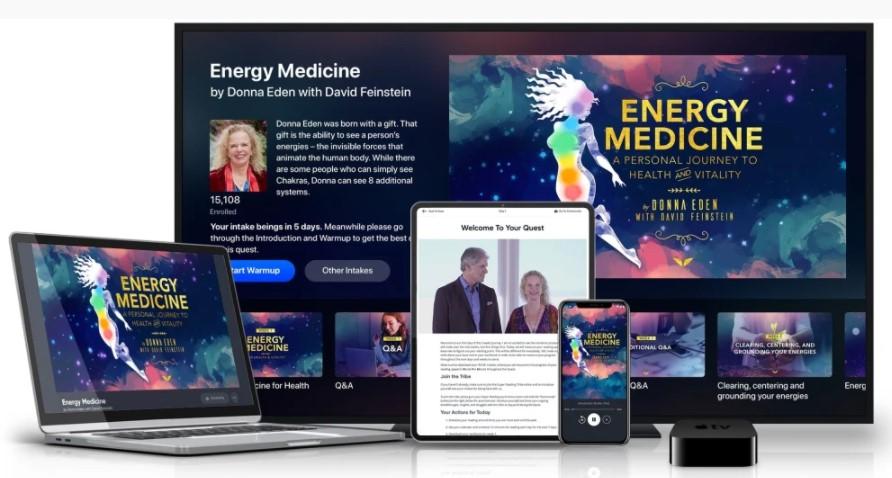 El Curso Medicina Energética de Donna Eden gratis
